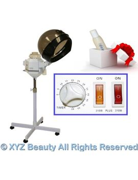 Dual Strength Hair Steamer Color Processing Conditioning Beauty Salon Equipment by Xyz Beauty