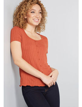 Got The Scoop Knit Top by Modcloth