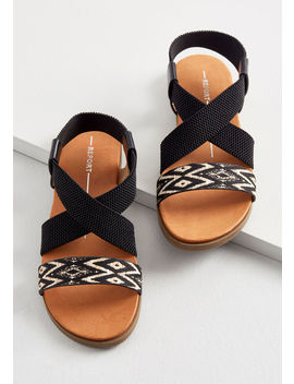 Eager Traveler Sandal by Modcloth