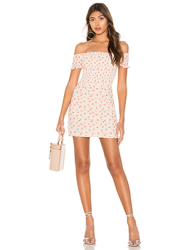 Elisa Floral Smocked Mini Dress by Superdown