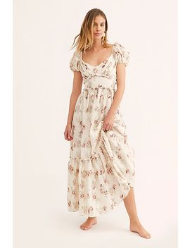Angie Linen Dress by Love Shack Fancy