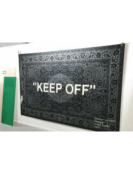 "Much Awaited Ikea X Virgil Abloh Signature ""Keep Off"" Rug! by Ebay Seller"
