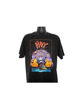 1993 The Maxx Vintage Wizard Presents Maxx 1/2 Issue Release Promo Cult 1995 Mtv Mini Series + Classic 90's Sam Kieth Comic Book T Shirt by Etsy