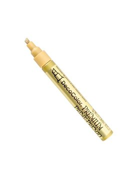 Uchida Of America 350 Cgld Deco Color Premium 3 Way Chisel Point Pen, Gold by Uchida Of America