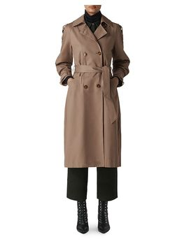 Imra Balloon Sleeve Trench Coat by Whistles