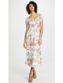 Tanya Ruffle Hem Maxi Dress by Wayf