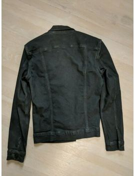 All Saints Wallach Black Denim Jacket Size S by All Saints