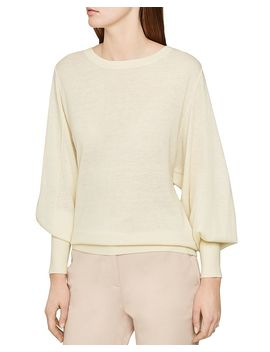 Abella Balloon Sleeve Sweater by Reiss
