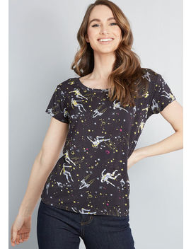 Instant Hit Relaxed Fit T Shirt by Modcloth