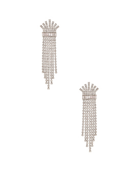 Crystal Fringe Earring by Elizabeth Cole