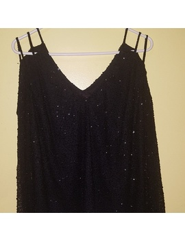 Classy And Chic Black Blouse.Nwt by Marina