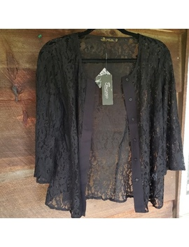 Nwt Lace Button Down TopNwt by Baciano