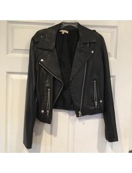 Vegan Leather Jacket by Poshmark