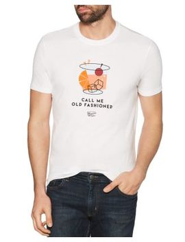 Call Me Old Fashioned Graphic Tee by Original Penguin