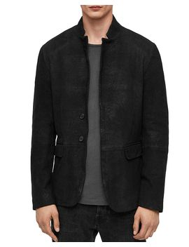 Brenton Leather Jacket by Allsaints