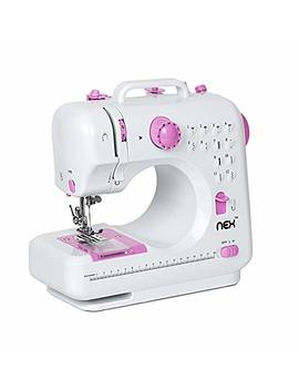Nex Sewing Machine Children Present Portable Crafting Mending Machine With 12 Built In Stitched by Nex
