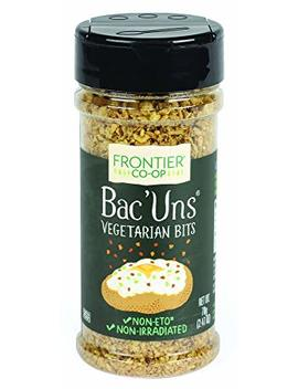 Frontier Vegetarian Bits Bac'uns, 2.47 Ounce Bottle by Frontier