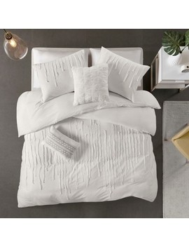 Makenna Cotton Comforter Set by No Brand