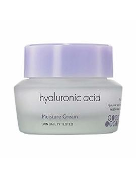 It's Skin Hyaluronic Acid Moisture Cream 50ml 1.69 Fl. Oz.   Hyaluronic Acid Cream Face Moisturizer Hydro Boost Facial Night Neck Creams Firming Vitamin C by It's Skin