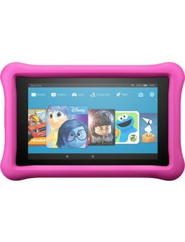 "Fire Kids Edition   7""   Tablet   16 Gb 7th Generation, 2017 Release   Pink by Amazon"