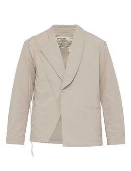 asymmetric-cotton-ripstop-blazer by a-cold-wall*