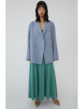 A Line Jacket Pale Blue Melange by Acne Studios