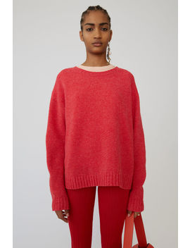 Basic Sweater Fuchsia Pink by Acne Studios