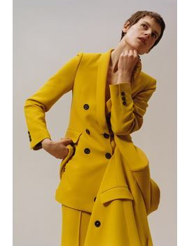 Double Breasted Buttoned Blazer  Collection Timeless Woman Corner Shops by Zara
