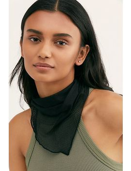 Courtside Mesh Triangle Bandana by Free People