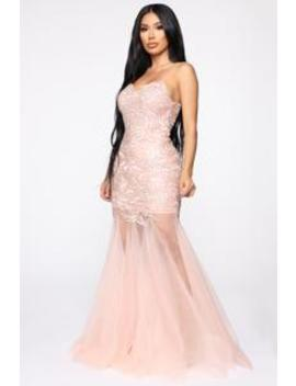At Last Gown   Pink by Fashion Nova