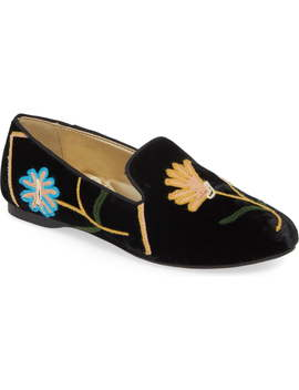 Starling Embroidered Slipper by Birdies