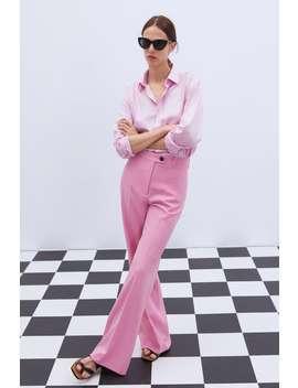 Straight Trousers  Blazerswoman by Zara