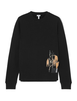 Printed Cotton Jersey Sweatshirt by Loewe