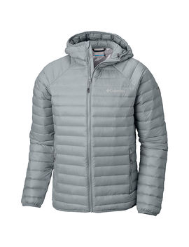 Men's Alpha Trail™ Down Hooded Jacket by Columbia Sportswear