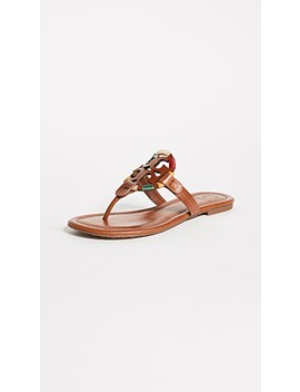 Miller Embroidered Sandals by Tory Burch