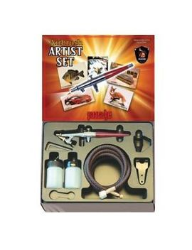 Paasche 2000 H Single Action Airbrush Kit by Paasche Airbrush