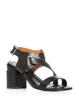 Women's Alba Strappy Block Heel Sandals by Clergerie