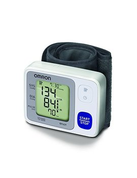 Omron 3 Series Wrist Blood Pressure Monitor (60 Reading Memory) by Omron