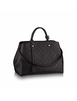 New!! Montaigne Style Leather Handbags On Promotion 13.0 X 9.1 X 5.9 Inches by Luxury Women Bag