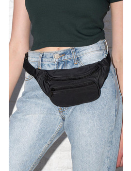 Black And Red Fanny Pack by Brandy Melville