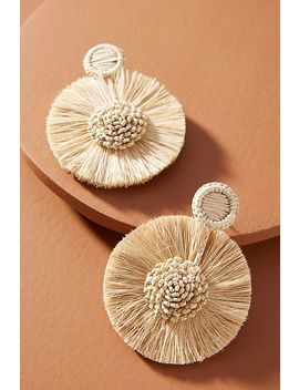 Luxchilas Fanned Flower Drop Earrings by Luxchilas