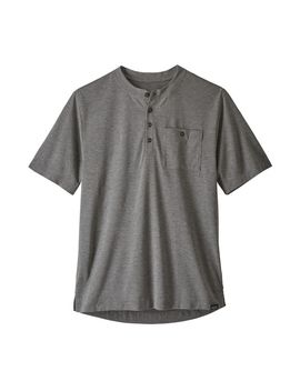 Patagonia Men's Capilene® Cool Trail Bike Henley by Patagonia