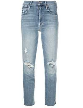 Distressed Skinny Jeans by Mother