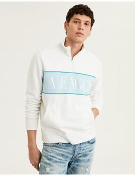 Ae Quarter Zip Pullover by American Eagle Outfitters