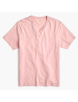 tall-essential-v-neck-t-shirt by jcrew