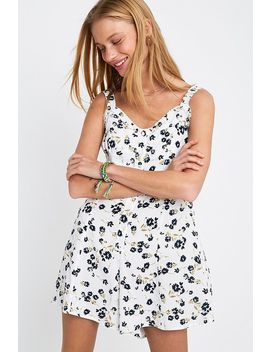 Uo Emma Louise Floral Playsuit by Urban Outfitters