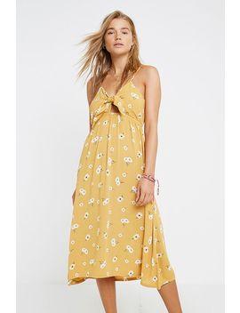 Billabong Floral Print Midi Dress by Billabong