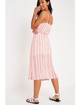 Minkpink Oceanside Stripe Midi Dress by Minkpink