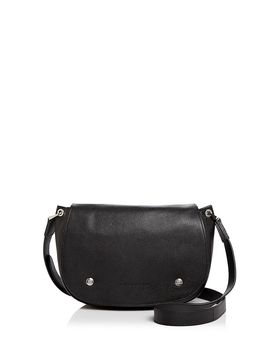 le-foulonne-leather-saddle-bag by longchamp