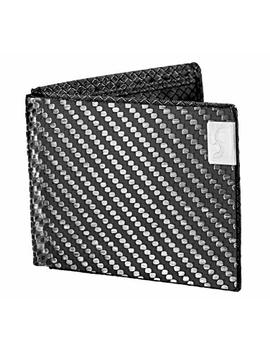 Common Fibers Mens Max Real Carbon Fiber Bifold Wallet With Rfid Credit Card Protection by Common Fibers
